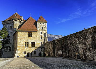 Photograph - Annecy Castle, France  by Elenarts - Elena Duvernay photo