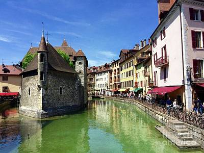 Photograph - Annecy by Irina Hays