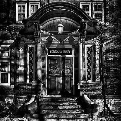 Landmarks Wall Art - Photograph - Annesley Hall Entrance  #toronto by Brian Carson