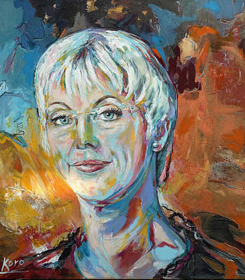 Painting - Annette by Koro Arandia