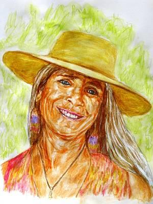 Anni Mccann, Portrait Art Print