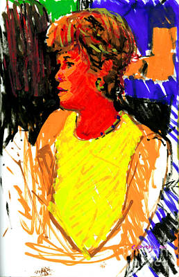 211 Painting - Annie Coolie by Candace Lovely