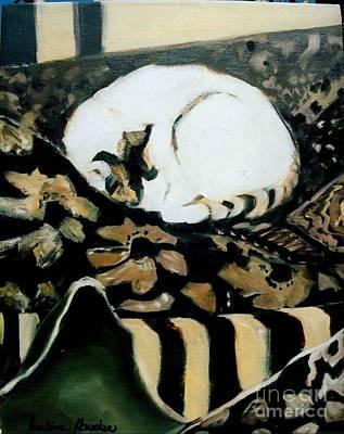 Painting - Annie Dreams by Pauline Hauder