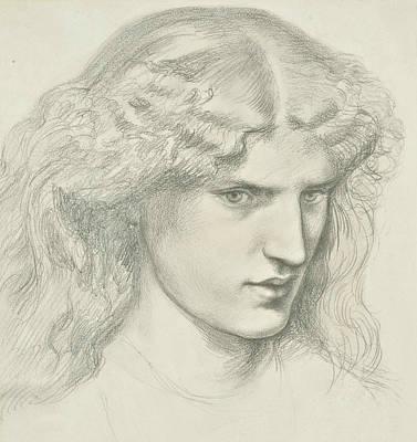 Annie Miller Art Print by Dante Gabriel Rossetti