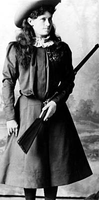 Annie Oakley, Aka Phoebe Anne Oakley Art Print