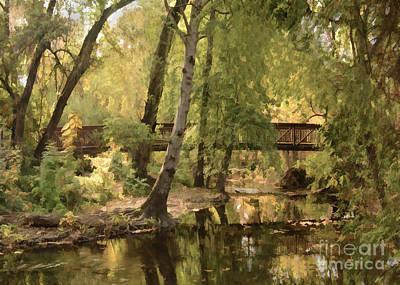 Photograph - Annie's Glen Bridge by Kathleen Gauthier