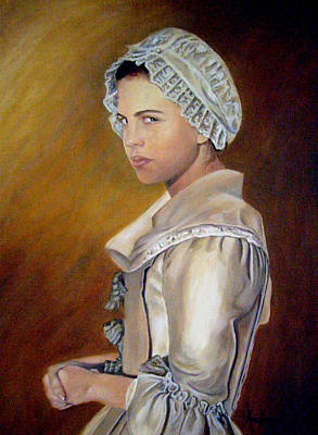 Painting - Annilise by Anne Kushnick