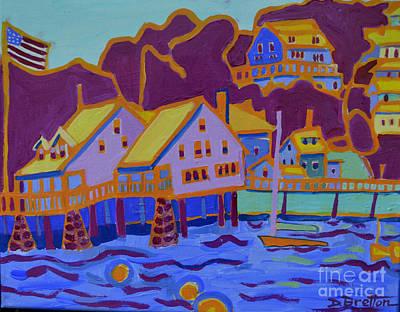 Painting - Annisquam Boathouse by Debra Bretton Robinson