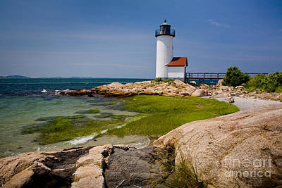 Annisquam Harbor Light Art Print