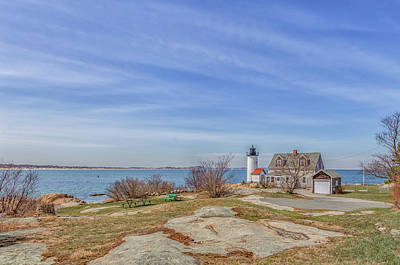 Photograph - Annisquam Harbor Lighthouse by Brian MacLean