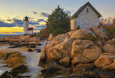 Photograph - Annisquam Harbor Lighthouse by Juergen Roth