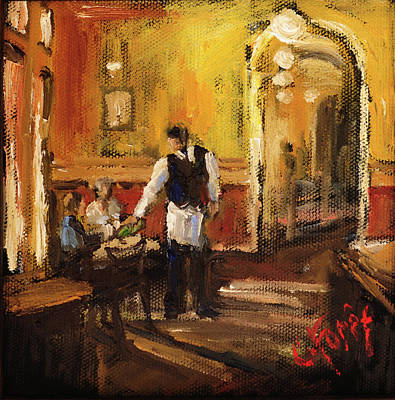 Painting - Anniversary At Highlands Bar And Grill by Carole Foret