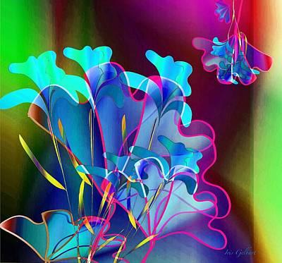 Digital Art - Anniversary Bouquet by Iris Gelbart