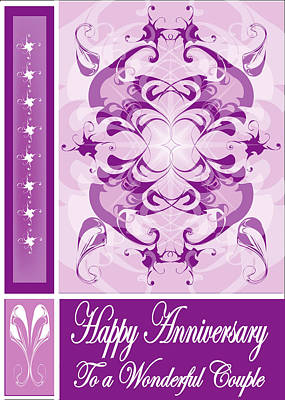 Anniversary Card 1 Art Print by George Pasini