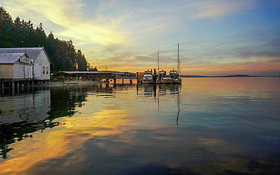 Photograph - Anniversary Sunset by Ronda Broatch