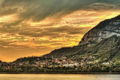 Photograph - Annone Lakescape by Roberto Pagani