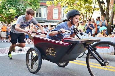 Photograph - Annual Bathtub Race - Berlin Maryland by Kim Bemis