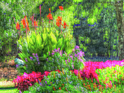 Digital Art - Annual Garden by Kathleen Illes