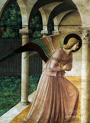 Gabriel The Angel Painting - Annunciation by Fra Angelico