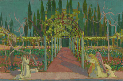 Painting - Annunciation by Maurice Denis