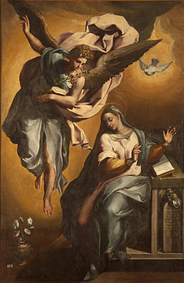 Painting - Annunciation Of The Virgin by Gregorio Martinez