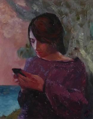 Anoesis Art Print by Irena Jablonski