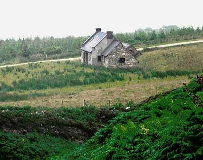 Photograph - Another Abandoned Cottage by Stephanie Moore