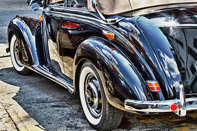Photograph - Another Angle On Vintage Mercedes Benz by Val Black Russian Tourchin