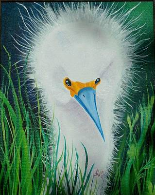 Painting - Another Bad Hair Day by Kathern Welsh