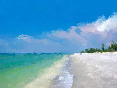 Another Beach Day Art Print
