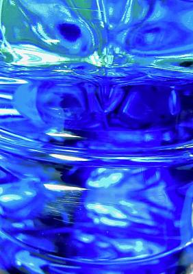 Photograph - Another Blue Abstract by Stephanie Moore