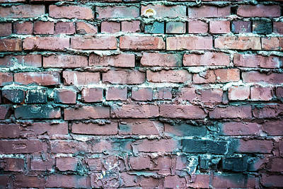 Photograph - Another Brick In The Wall by Anthony Doudt