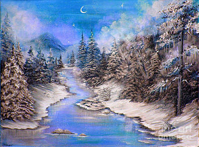 Painting - Another Cold And Windy Day 2 by Patrice Torrillo
