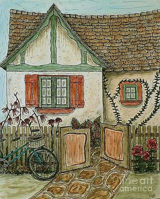Painting - Another Crooked Cottage by Kim Jones