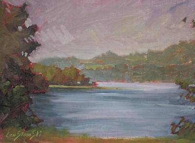 Painting - Another Day At Second Pond by Len Stomski
