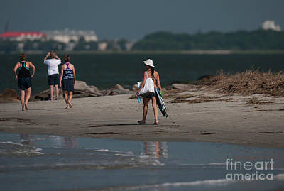 Photograph - Another Day At The Beach by Dale Powell