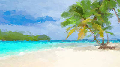 Mixed Media - Another Day In Paradise  by Anthony Fishburne