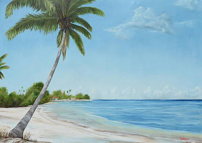 Another Day In Paradise Art Print by Lloyd Dobson