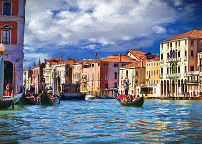 Photograph - Another Day In Venice by Ron Grafe