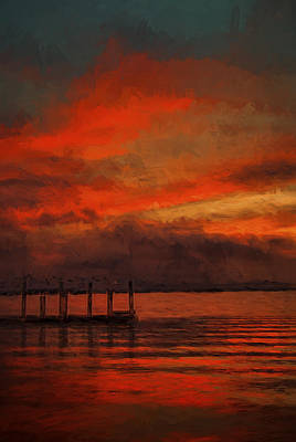 Another Day Is Done 2 Art Print
