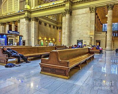 Another Delay - Union Station - Chicago Art Print