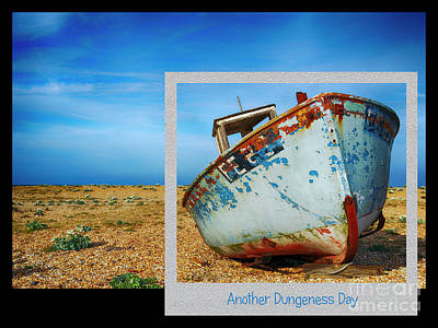 Digital Art - Another Dungeness Day by Wendy Wilton