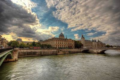 Photograph - Another Fine Morning In Paris  by Hany J