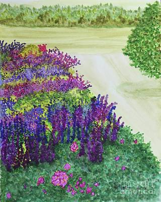 Painting - Another Garden Dream  by Barrie Stark