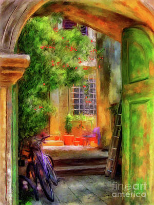 Digital Art - Another Glimpse by Lois Bryan