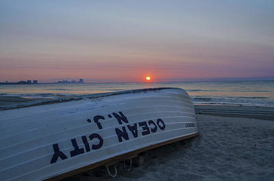 Ocean Photograph - Another Good Day In Ocean City by Bill Cannon