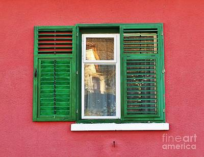 Another Green Shutter Art Print
