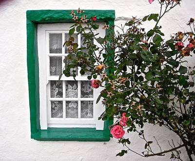 Photograph - Another Irish Window by Stephanie Moore