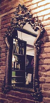 Giuseppe Cristiano - Another Lovely Baroque Italian Mirror, Pisticci Ristorante in NYC by Kenlynn Schroeder