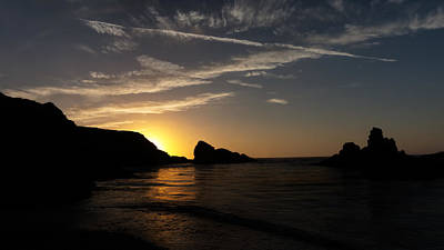 Photograph - Another Mendocino Sunset by Nisah Cheatham